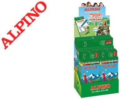 Alpino AL000368 - Expositor estuche lápiz personal: Amazon.es: Oficina y papelería