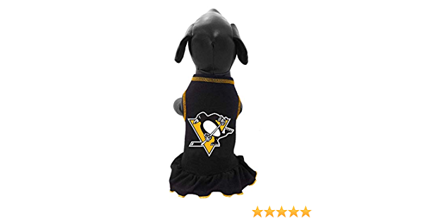 XX-Large Black All Star Dogs NHL Pittsburgh Penguins Dog Cheerleader Dress