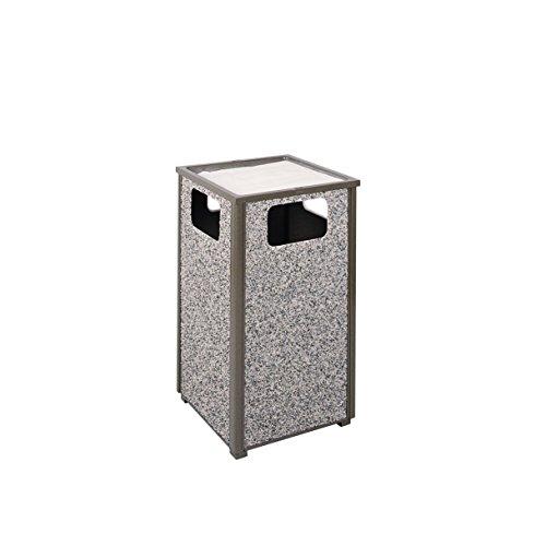 (Rubbermaid Commercial Products Aspen Series Ash/Trash Refuse Container (24-Gallon, Bronze) (FGR18SU6000PL))