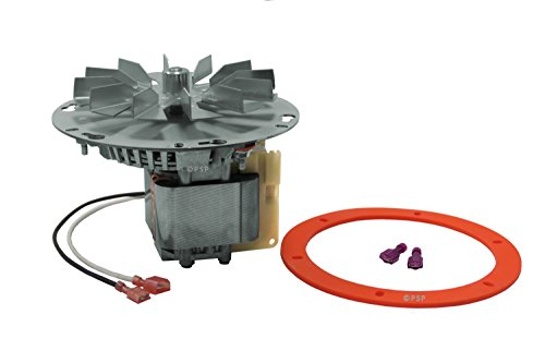 "Price comparison product image Breckwell, Enviro, Vista-Flame, Pellet Stove Exhaust Combustion Blower Motor Assembly 6"" Mounting Hub # A-E-027, EF-161A"