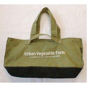 ツールバッグ 【トートタイプ】 綿100% 帆布製 日本製  Urban Vegetable Farm ツールバックトートタイプカラーグリーン B07PBXD59S