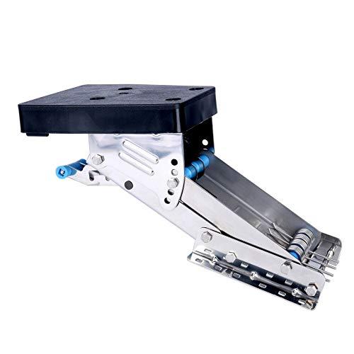 (Workshop Equipment Stainless Steel Outboard Auxiliary Motor Bracket- 20HP 2 Stroke Motors US CGA)