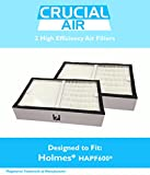 2 High Quality Air Filter, Fit Holmes HAPF600, Designed and Engineered by Think Crucial