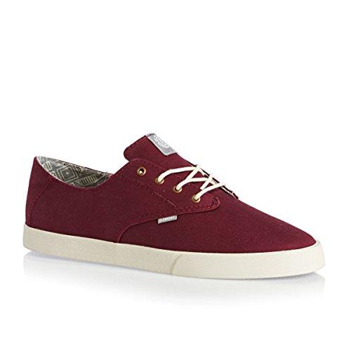 Element Vernon Shoes - Oxblood rojo - rojo