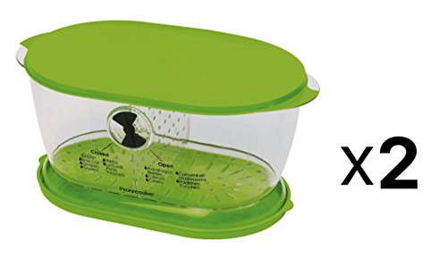 Prepworks by Progressive Lettuce Keeper - 4.7 Quart, 2 Pack ()