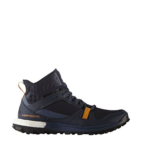 adidas Supernova Riot M, Zapatillas de Running Para Hombre, Negro/Azul/Naranja (Maruni/Azumin/Eqtnar), 40 EU