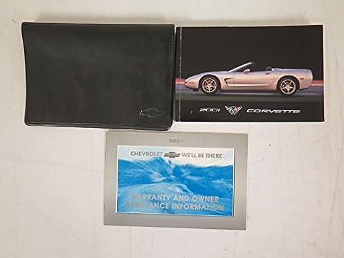 2001 chevrolet corvette owners manual guide book amazon com books rh amazon com 2010 Chevrolet Corvette 2010 Chevrolet Corvette