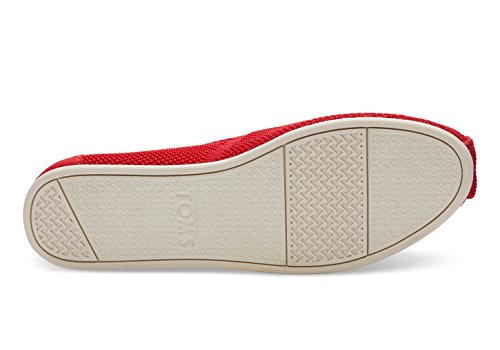 Toms Mens Aiden Casual Shoe (5 B (m) Us, Red Custom Knit)
