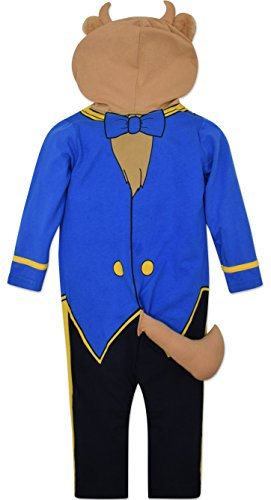 Disney the Beast Prince Baby Boys' Costume Coverall with Hood, Blue, 18-24 Months by Disney (Image #1)