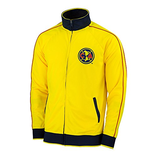 Football America Adult Football (Club America Jacket Track Soccer Adult Sizes Soccer Football Official Merchandise (L))