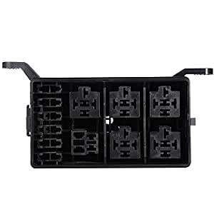 ajaxstore auto fuse box 6 relay relay holder. Black Bedroom Furniture Sets. Home Design Ideas