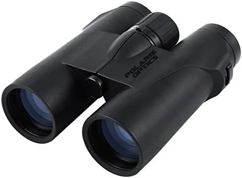 Polaris Optics WideViews HD 8X42 Professional Binoculars for Bird Watching. Extra-Wide Field of View for the Brightest, Clearest Detail. Close Focus for Closer Views. HD Quality at an Affordable Price