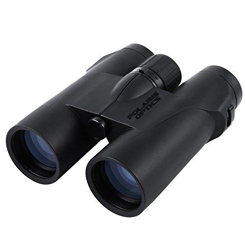 Polaris Optics WideViews - 8X42 HD Professional Bird Watching Binoculars - Get Extra-Wide Field of View for the