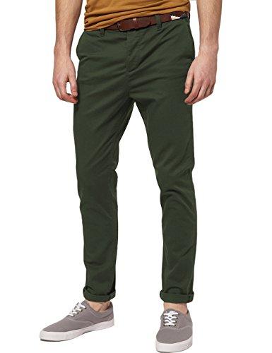 Italy Morn Men Chino Pants Khaki Slim Fi - Green Khaki Pants Shopping Results