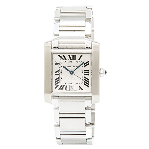 Cartier Tank Francaise Automatic-self-Wind Mens Watch 2302 (Certified Pre-Owned)