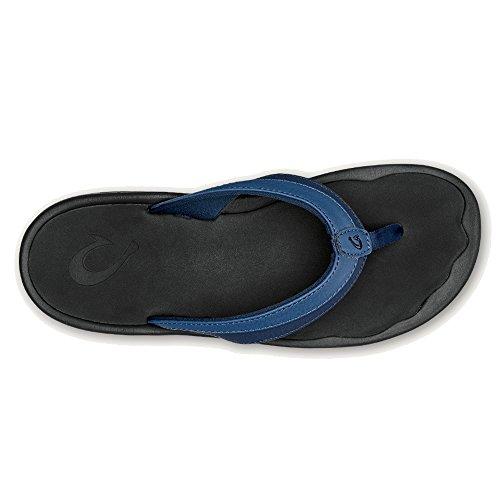 Olukai Ohana Sandale - Frauen Blaubeere / Schwarz