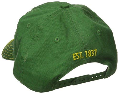 John Deere Embroidered Logo Vintage Baseball Hat - One-Size - Men's Green