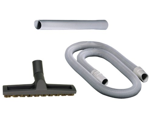 Sebo 1991AM Automatic X 3-Piece Vacuum Attachment Set with Extension Wand, 9-Foot Hose and Parquet - Parquet Brush