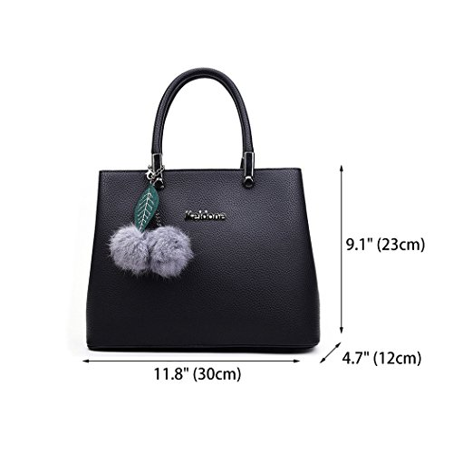 Bags With Women For Shoppers Bag Handbags And Shoulder Shoulder Handbags Handle Fekete Bags Yv6FqxR