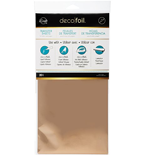 - iCraft Deco Foil Transfer Sheets, 6
