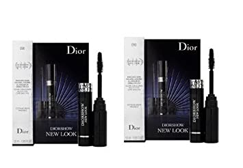 Dior Diorshow New Look Mascara 090 Black Sample Size 1.5ml X 2=3ml NIB