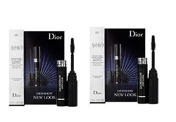 Dior Diorshow New Look Mascara 090 Black Sample Size 1.5ml X 2=3ml NIB