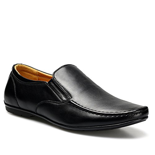 23e7682dd66e Thadensama Men Moccasins 39-44 Driving Comfortable Soft Soft Soft Handmade  Men Loafers Black 8.5 B07GX9XPGG Shoes c2318d