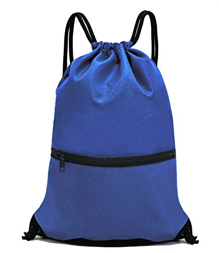 (HOLYLUCK Men & Women Sport Gym Sack Drawstring Backpack Bag -)