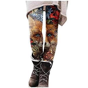 Bringing Legging Femme,Legging Minceur Pas Cher Taille Haute Moulant Collant Fantaisie Chic Fashion Imprimé Ethnique…