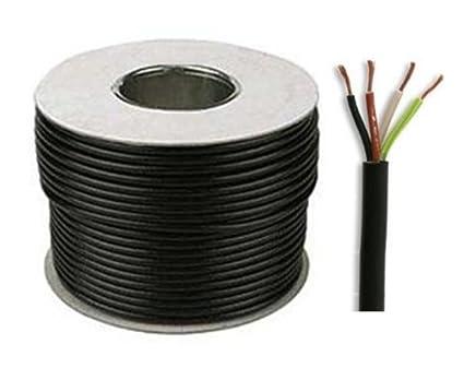 SEL 3184Y - Rollo de cable eléctrico (10 m, 1,5 mm,