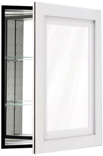 Robern CB-MT24D4CDWN Candre Medicine Cabinet, White