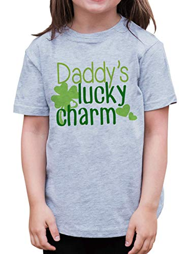 7 ate 9 Apparel Kids Daddy's Lucky Charm St. Patricks Day T-Shirt 5T Green