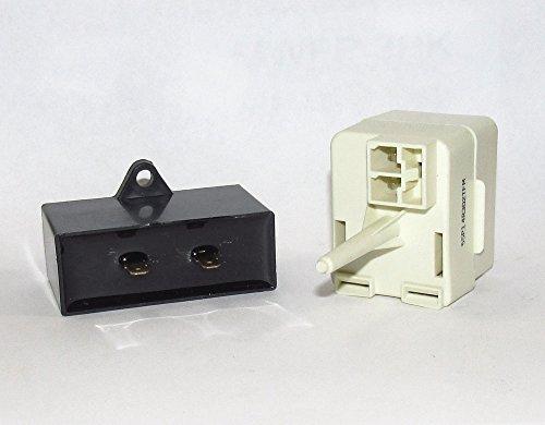 PS8746522 REFRIGERATOR START RELAY OVERLOAD & CAPACITOR ()