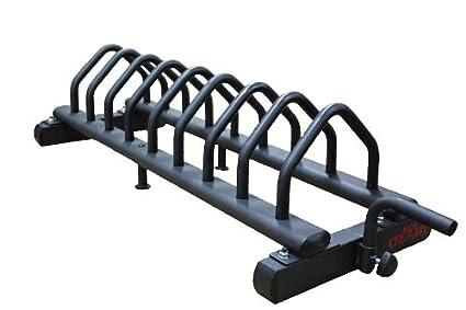CFF Horizontal Bumper Plate Rack w/Wheels  sc 1 st  Amazon.com & Amazon.com : CFF Horizontal Bumper Plate Rack w/Wheels : Plate ...