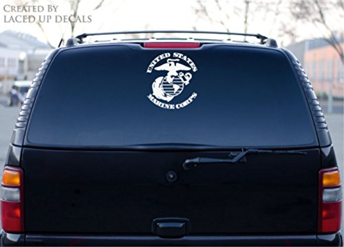marine corps window decal - 3