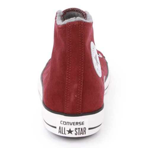 Converse All Star Hi Suede Shearling Black 111517 - Zapatillas fashion de ante unisex, color negro, talla 39,5 Andorra