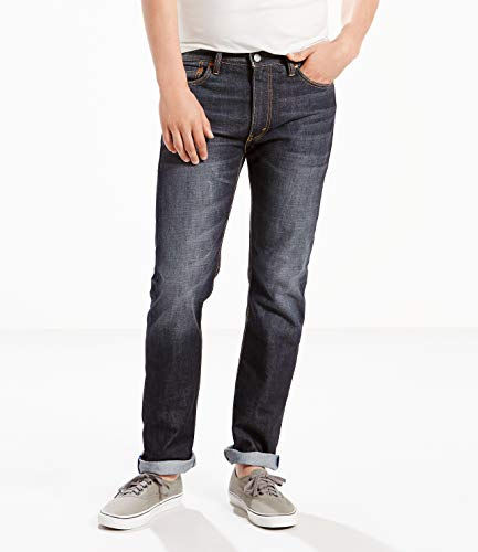 (Levi's Men's 513 Stretch Slim Straight Jean, Bowman Lake, 28x32)