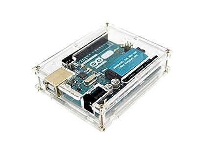Caja Transparente para Arduino Uno R3 box potection: Amazon.es ...