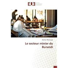 Le secteur minier du Burundi
