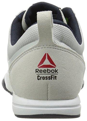Zapato Reebok Crossfit Sprint Formación Tr Steel/Green Smash/Reebok Navy/White