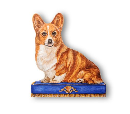Stupell Home Décor Corgi Decorative Dog Door Stop, 15 x 0.5 x 13.5, Proudly Made in ()