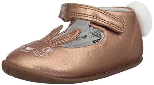 (Carter's Every Step Girls' Stage2 Stand, Esti-SG Ballet Flat, Pink, 5 M US (9-12 Months))