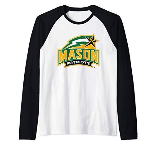 - George Mason University Patriots NCAA RYLGMU06 Raglan Baseball Tee