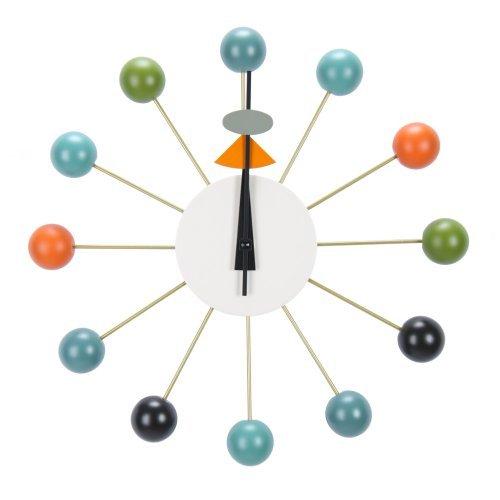 [ ヴィトラ ] Vitra Wall Clocks ウォール クロック 壁掛け 時計 Ball Clock Multicolor マルチカラー 201 250 03 [並行輸入品] B00B5970USマルチカラー