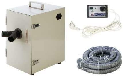 Doc.Royal LED Digital Double Impeller Dust Collector Artificer Room Vacuum Cleaner 550W JT-D-26B for Dental, Laboratory, Industry