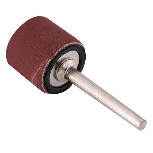 High Five Store 100pcs 600 Grit Sanding Bands Drums Sleeves and 1/8inch Mandrel for Rotary Tool New Product hf445