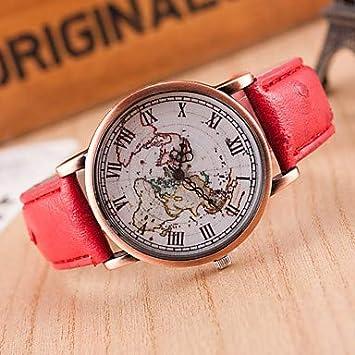 XKC-watches Relojes de Mujer, Mujer Reloj de Pulsera Cuarzo Reloj Casual Piel Banda
