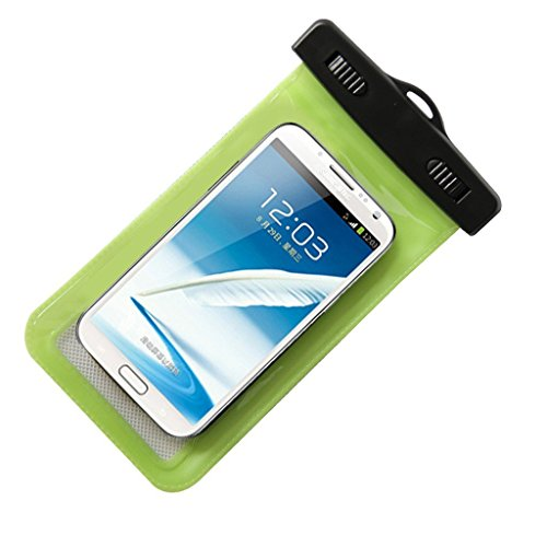 Waterproof Phone Case for Outdoor Activities - Perfect for Boating / Kayaking / Rafting / Swimming - Protects Ywaterproof Bag for Apple Iphone 6, 5s, 5c, 5; Galaxy S6, S4, S3; HTC One X, Galaxy Note 4, Note 3. Protects From Water, Sand, Dust and Dirt - Ipx8 Certified to 100 Feet - Convient Neck Strap Included