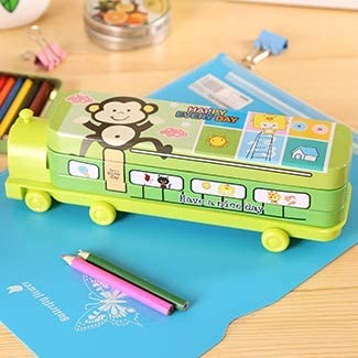 ZYWDDP Sacapuntas de lápiz de Doble Capa, Caja de bolígrafos multifunción para niños, bolígrafo, B: Amazon.es: Hogar
