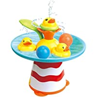 Baby Bath Water Toys Children Bathing Bathroom Fountain with Ball Toys